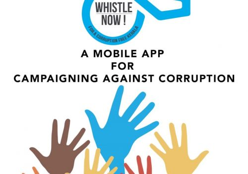 Whistle Now! - A Mobile Platform For Campaigning Against Corruption.