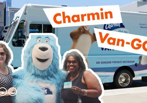Charmin Van-GO - a NYC bathroom when you need one!