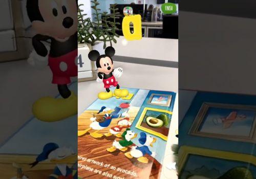 AR for books - ABC Disney
