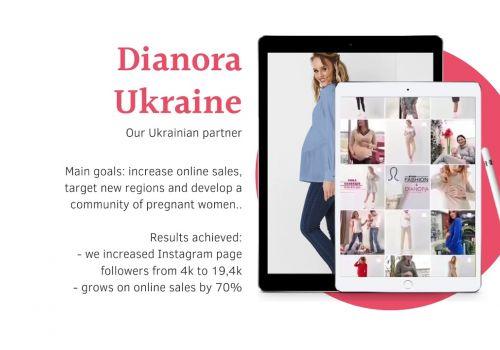 SMM для Dianora Ukraine