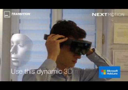 Augmented Reality and Hololens in aesthetic medicine by Transition Technologies and Next Motion