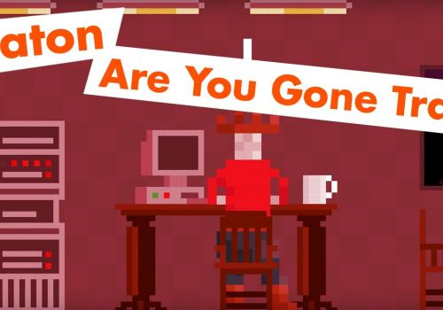 Eaton Are You Gone Trail - 8-bit retro gaming meets b2b marketing