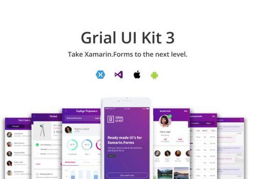 Grial UI Kit 3.0