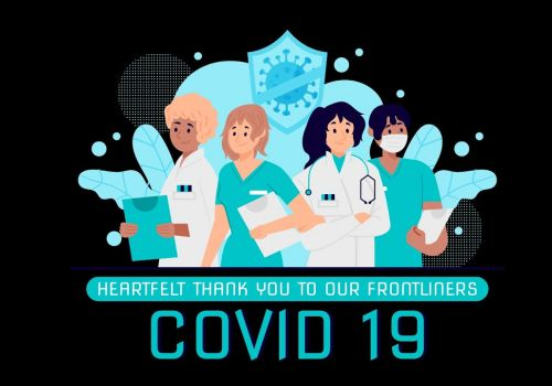 Thank You to our Frontline Heroes Who Stand Strong Against COVID-19