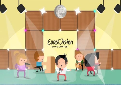 Eurovision fanhouse content addition | 2D animation by Craftoon