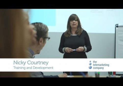 Working at The Telemarketing Company:  Training and Development, Nicky Courtney