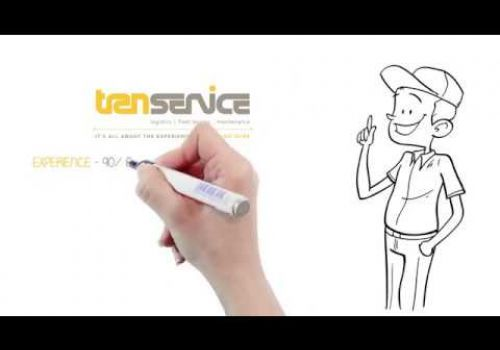 Whiteboard video for TranService