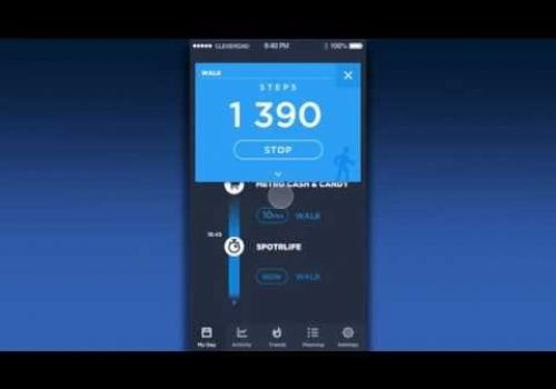 Fitness Tracker Concept by Cleveroad