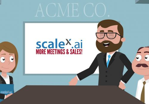 ScaleX.ai - More meetings | more sales