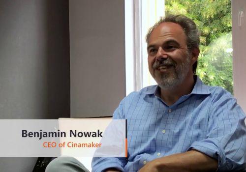 New Line Technologies testimonial | Benjamin Nowak, CEO of Cinamaker