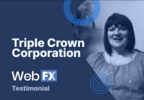 Triple Crown Corporation Testimonial