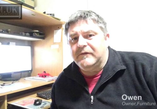 Mandy Web Design | Client Owen, Owner at Furniture Men | Feedback and Review