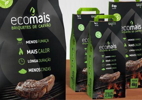 Embalagem para Briquetes de Carvão ECOMAIS