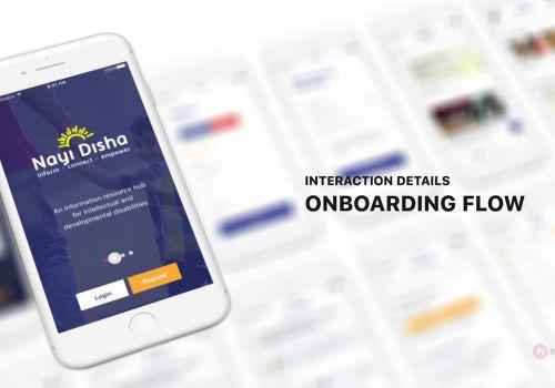 Mobile Experience Design for Nayi Disha (NGO)