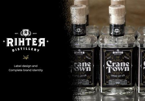 Crane Town Label Design & Complete Brand Identity