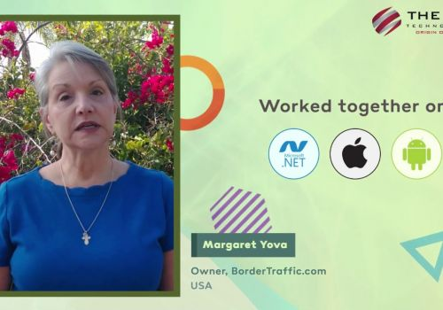 Web & Mobile App Development Testimonial from Margaret Yova