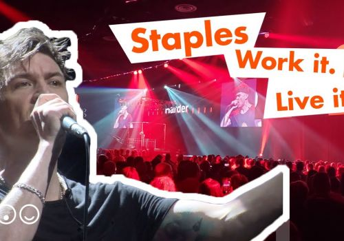 Staples 'Work It. Live It' event - Building excitement around a new master brand