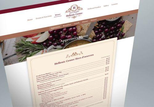 J P. Eliopulos Hellenic Center New Website