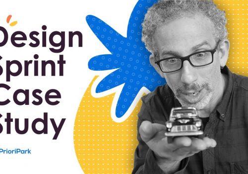 Idea to Appstore - Design Sprint/UX Process Case Study  || PrioriPark app