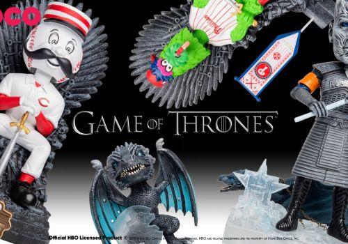 Game of Thrones x MLB x FOCO Bobbleheads