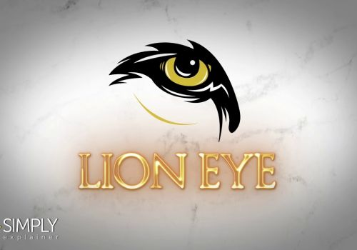 Lion Eye Logo Animation