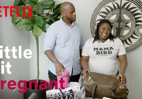 Danielle Brooks Hooks Her Man Up to a Labor Simulator | A Little Bit Pregnant | Netflix Family