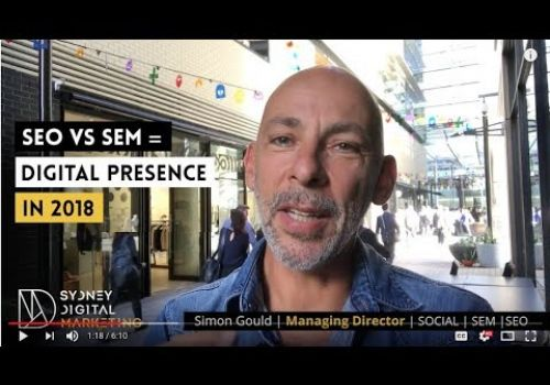 SEO vs SEM. What's the difference in 2018? | Sydney Digital Marketing