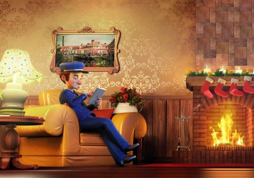 Promotional 3D Animated TVC for Madbid (Santa Claus)