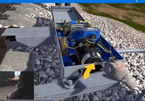 Interactive VR Training for Cooperation Lithuania Railways & Russian Railways