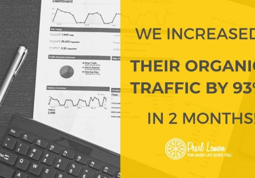Magazine SEO - 93% Increase In New Users In 2 Months | Pearl Lemon SEO Case Study