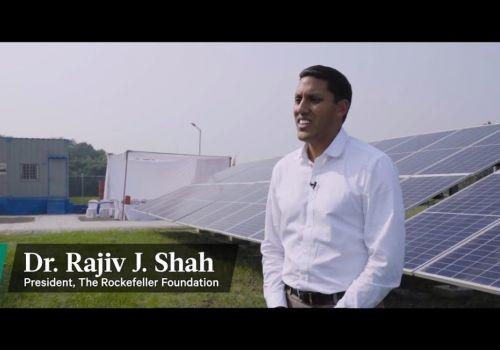 Tara Urja Plant, Parsa, Bihar   The Rockefeller Foundation