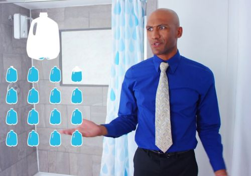 EvaDrop The World's First Smart Shower That Saves Water