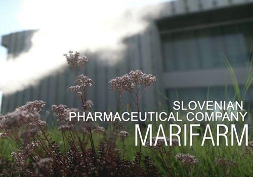 Promotional video for Slovenian pharmaceutical company Marifarm