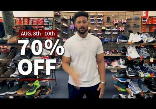 Brown's Shoe Fit Co of Muskogee Annual Tent Sale Video
