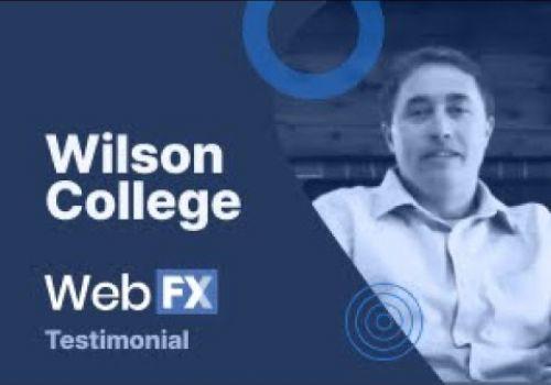 Wilson College Testimonial