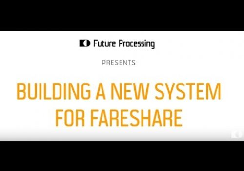 Building a new system for FareShare | Future Processing