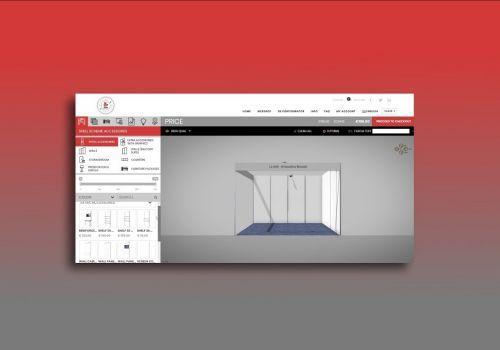 3D Configurator Online - ARTI70 standbuilder IBC