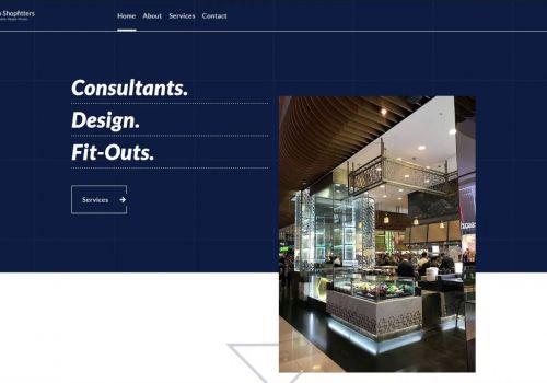 Interior Designer Website Home Page
