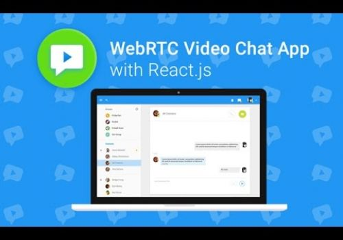 WebRTC Video Chat App with React.js