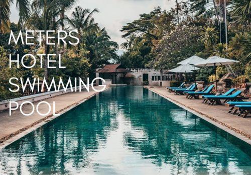 50 Meters Swimming pool! @ Renaissance Koh Samui