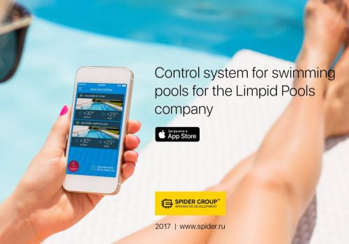 Control System for Swimming Pools for the Limpid Pools Company