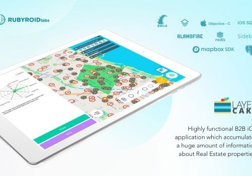 Rubyroid Labs. Case Study for Layer Cake - Real Estate accumulation software (iOS)