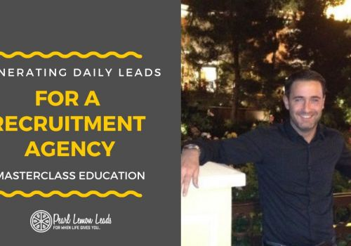 Recruitment Agency Lead Generation - Daily Candidates | Pearl Lemon Leads