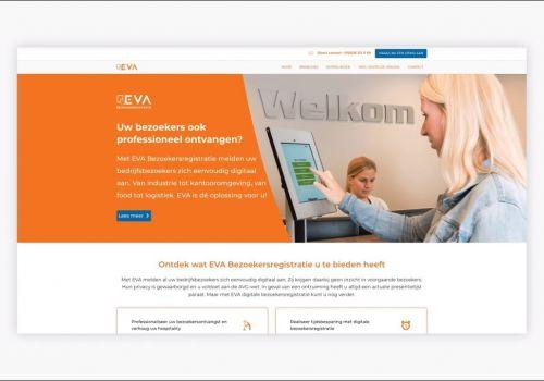 EVA Bezoekersregistratie - showcase