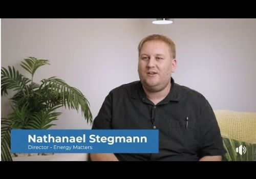 Energy Matters Testimonial Video - Digital Eagles