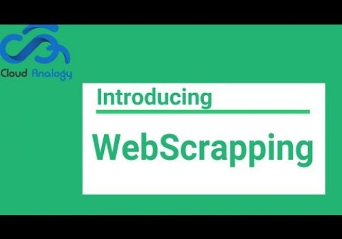 Power of Python to use for Web scraping.