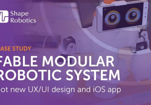 Ciklum's UX/UI design and app development helped Shape Robotics partner with Microsoft