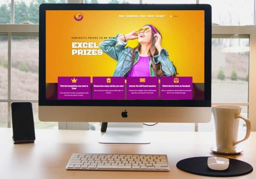 Excel Prizes Website Design & Development