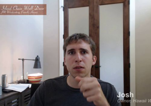 Mandy Web Design | Client Josh Owner, Hawaii Wood Art | Feedback and Review