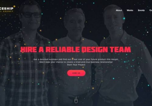 Design Agency Main Page by Cleveroad
